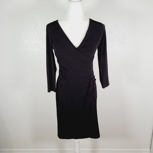 London Times Classic Black Sexy Cocktail Dress